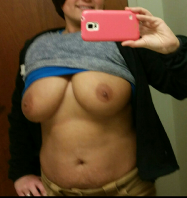 Work boobs!!
