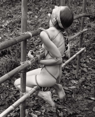 bound outdoors