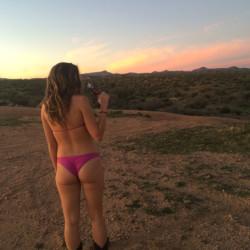 desert girl with a huge ass