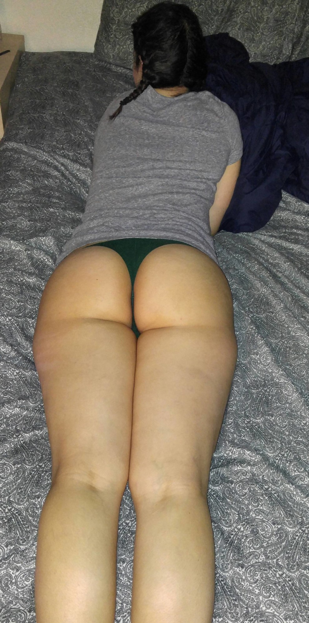 (f)ed him some booty for dinner. Treat your man right ladies.