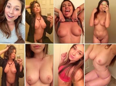 many selfies