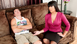 Stepmom Mercedes Carrera receives drilled by stepson