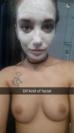 A different kind of facial
