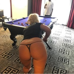 A game of strip pool