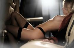 Backseat beauty