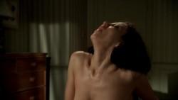 Leslie Bega topless plot in The Sopranos