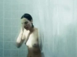 Lena Heady coming out of the shower in The Broken (2008)
