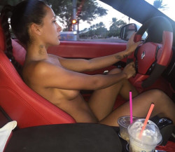 Driving around town