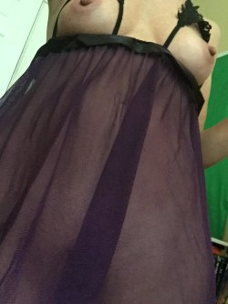 [F]eeling purple today ;-))