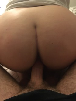 G(f)'s beautiful ass riding (m)y cock