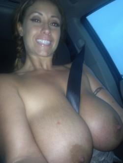 Huge milfy tits
