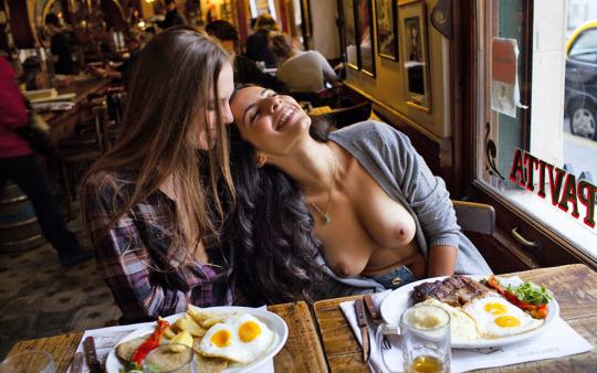 руски секс в кофе