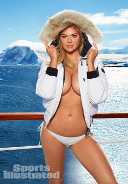 Kate Upton- One day she will pose topless. Until then this is good enough.