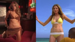 Sarah Chalke - Split Screen Bikini Scrubs Plot