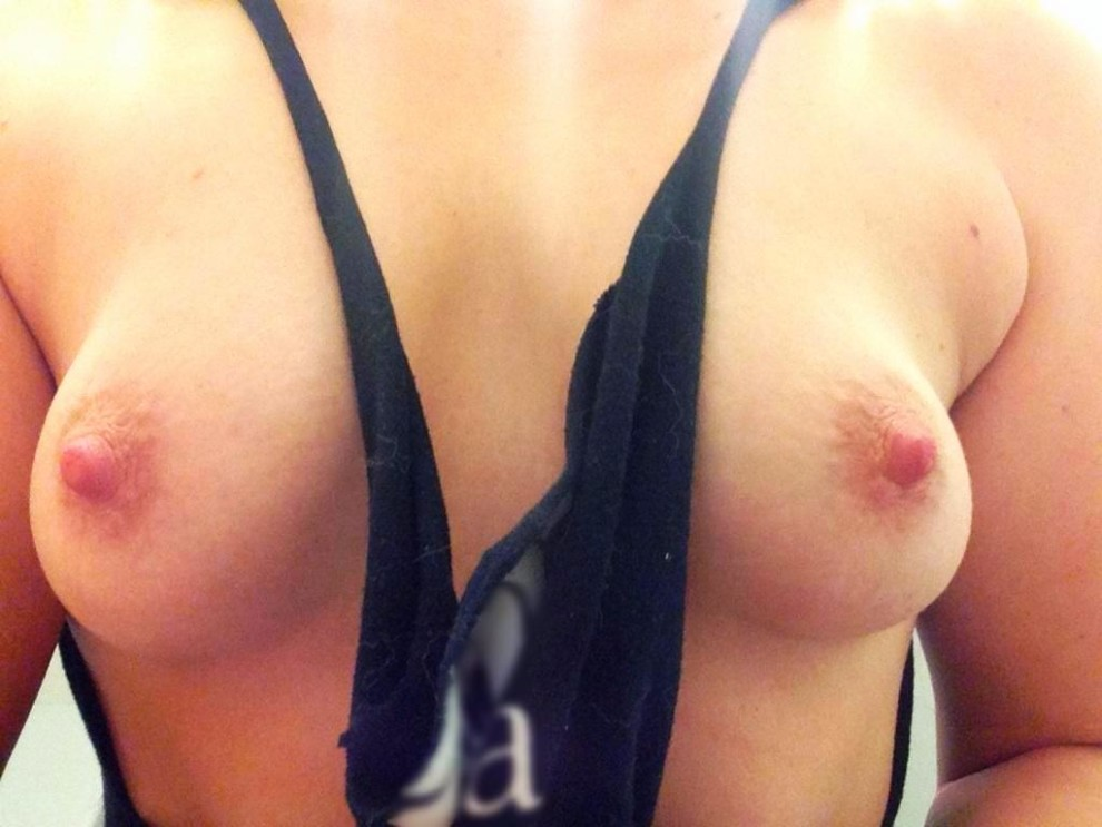 Look what your comments do to my wife's nipples! Tell her what you would do to them.