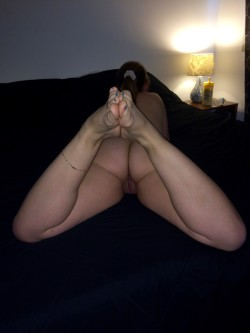 My Hotwife right before she got ready for a night with her favorite fuck buddy.