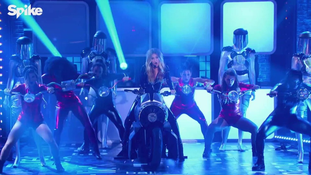 Gigi Hadid Earned Her 'Lip Sync Battle' Win (more in comments)