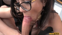 Enthusiastic Blowjob by Girl With Glasses