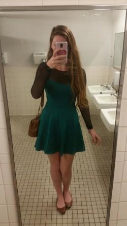 Pretty green dress
