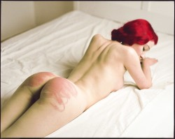 Red Hair with Scratched Ass