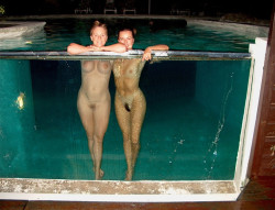 See through pool is a great invention