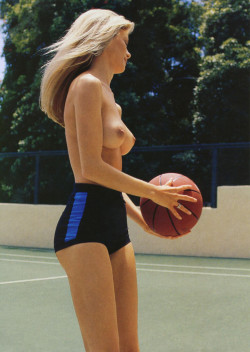 Someone will dribble at that sight