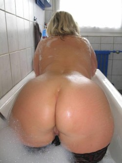 Stockings in the bath