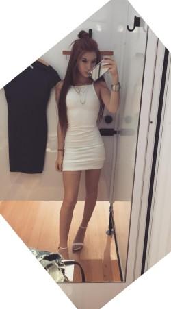 Tight minidress