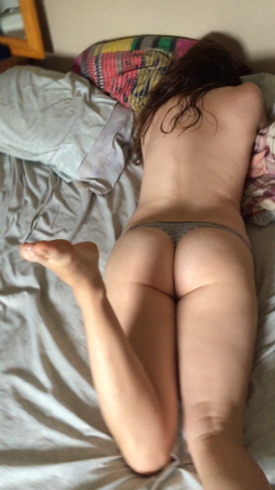 Trying to get my g(f) out of bed so I can get in that ass;)