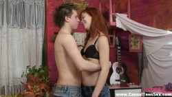 Most excellent hookup with redhead teeny