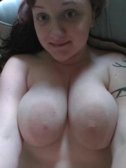 my sleepy [f]ace. oh and boobs