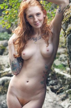 redhead with tatts [x-post /r/NakedHotties