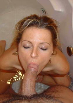 somebody's wife draining my balls.