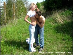 Hookup in a wood