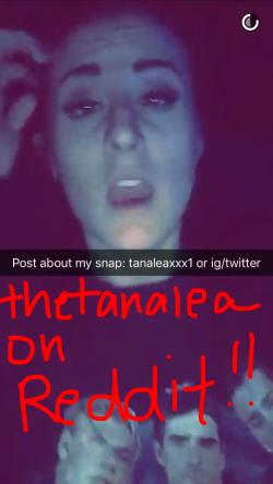 Add her on snapchat tanaleaxxx1