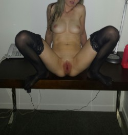 As promised. My ravaged lil pussy