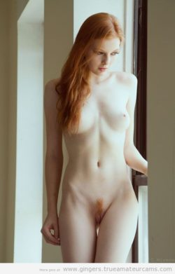 Authentic ginger landing strip