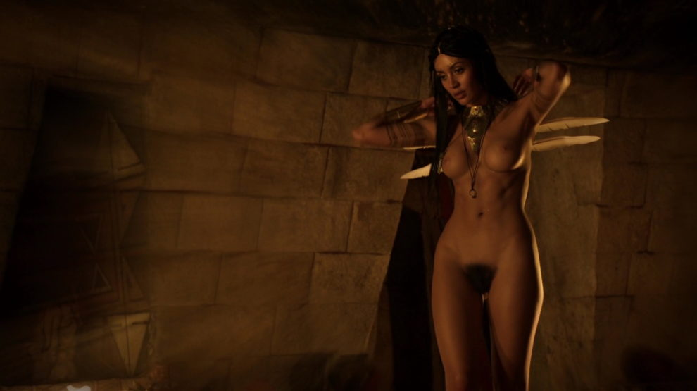 Carolina Guerra in Da Vinci's Demons Fully Nude [AIC]
