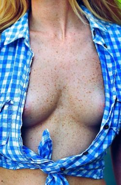Chest Freckles...chesteckles?