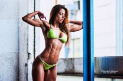 Fit girl Petra Szabo