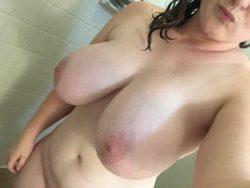 [F]resh shower boobies.