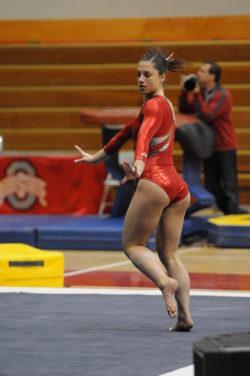 Gymnast booty