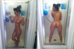 Hard Body in The Bathroom