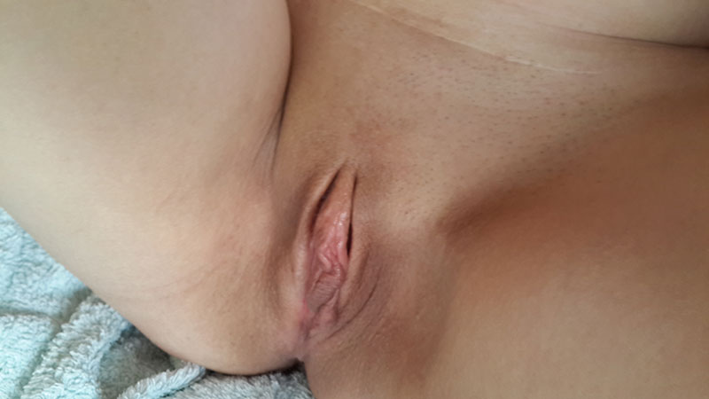 Hubby's view [f]or the evening ;)