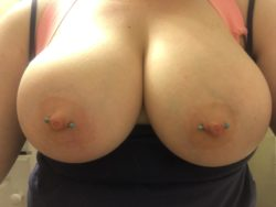 I hope you like my pale boobies (; (f)