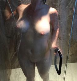 I love watching my wife shower