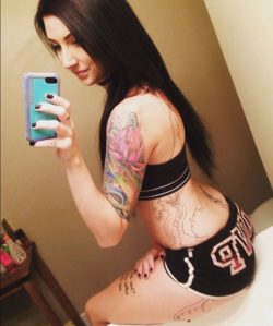 Inked hottie