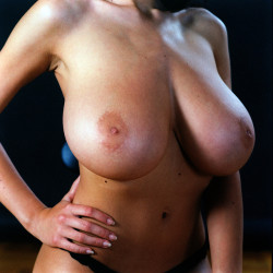 Jana's Definitely got big tits