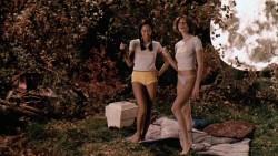 "Kaye Penaflor & Tania Maro in ""Jason X"" [2001]"