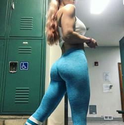 Locker Room Ass in Blue